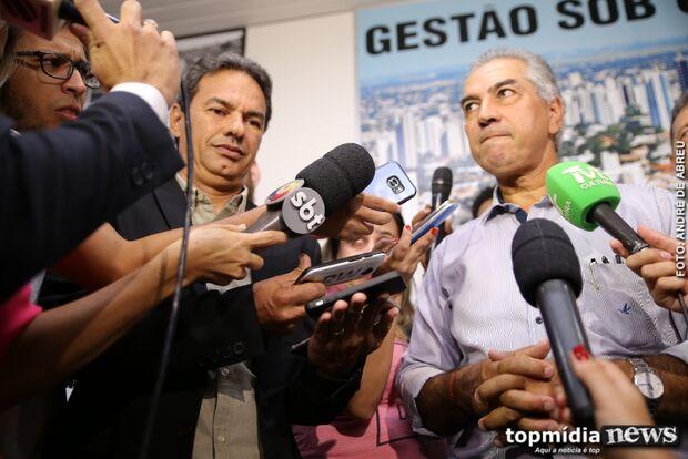 Marquinhos garante que vai à reeleição, mas Reinaldo adia a conversa: 'fica para 2020'