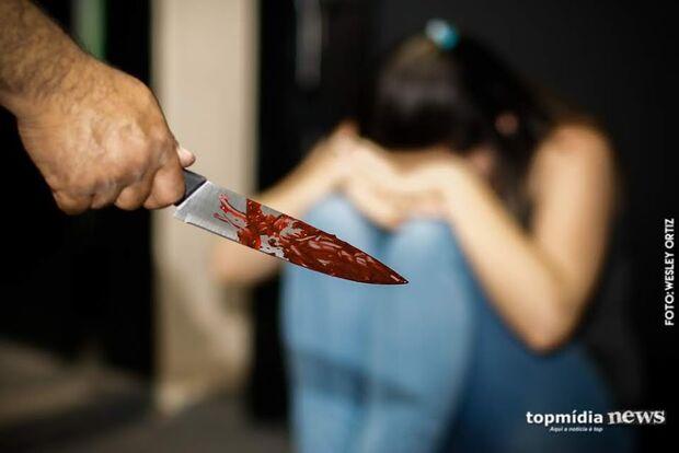 Armado com faca, filho ameaça pais idosos em cidade do MS