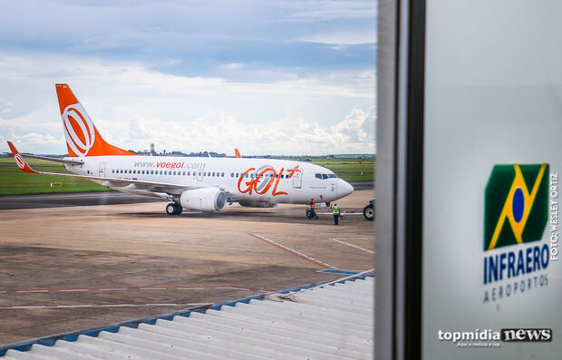 Aeroporto de Campo Grande opera normalmente neste sábado