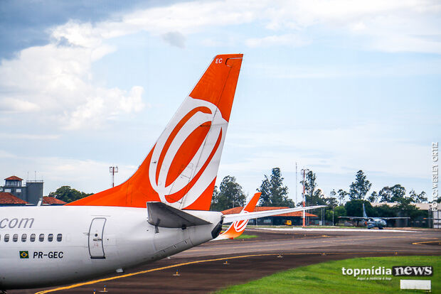 Aeroporto Internacional de Campo Grande opera normalmente nesta Quarta-feira de Cinzas