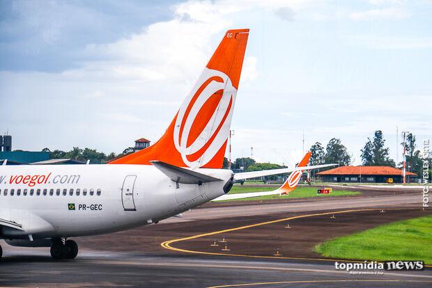 Aeroporto de Campo Grande opera normalmente neste sábado com quatro voos programados