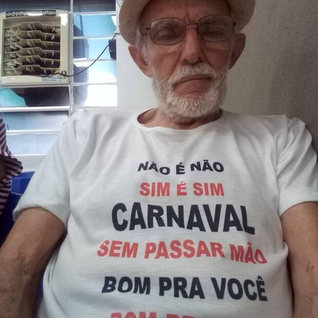 Figura histórica de Campo Grande, Antônio Poeta abraça campanha 'Não é Não!'