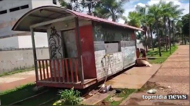 VÍDEO: usuários de drogas voltam para Orla Ferroviária e aterrorizam vizinhança