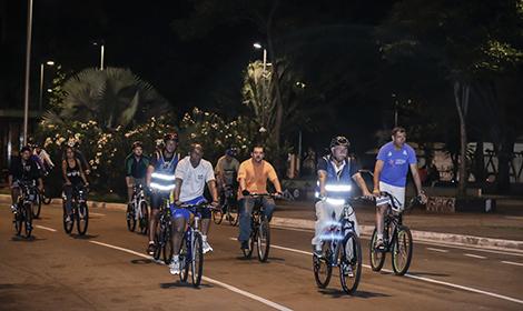 Pedalada Noturna acontece em Campo Grande no final de março