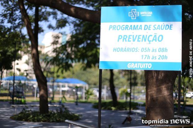 Santa Casa em movimento: hospital inaugura academia ao ar livre para funcionários