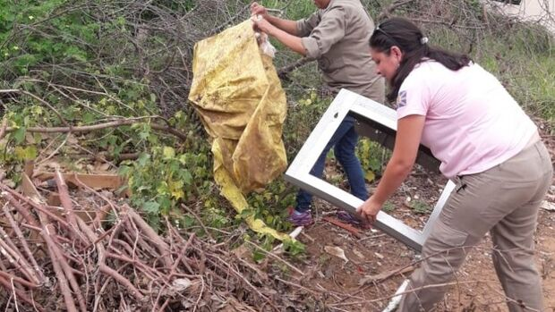 Mobilização vistoria mais de 4 mil imóveis contra o Aedes Aegipty no bairro Nova Bahia