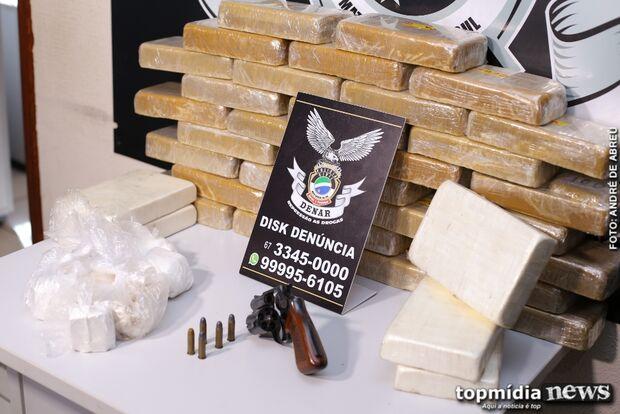 TRAFICANTE VIP: mulher é presa com droga avaliada em R$ 1 milhão na Capital