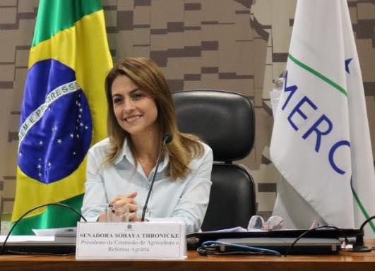 Soraya segue para viagem internacional 37 dias depois da posse; Senado pagará despesas