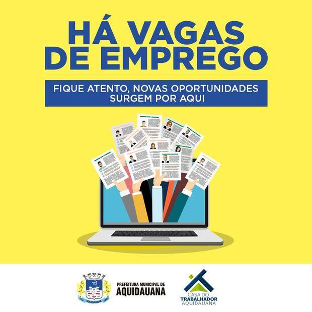 AQUIDAUANA: Casa do Trabalhador oferece vagas para cozinheira e mecânico