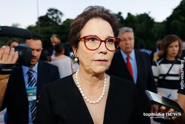 Tereza Cristina vai à Washington e Nova York fechar negócios com os EUA