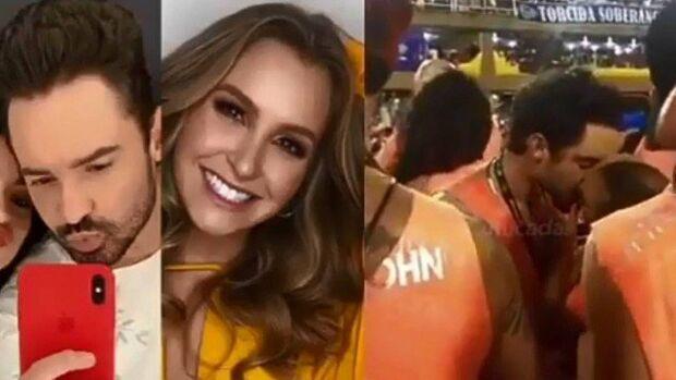 Carla Diaz é flagrada aos beijos com o sertanejo Fernando, que faz dupla com Sorocaba