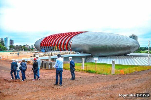 AGORA VAI: obras do Aquário do Pantanal serão retomadas em maio, anuncia vice-governador