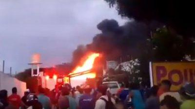 Suspeito de estupro contra enteada tem casa incendiada por vizinhos