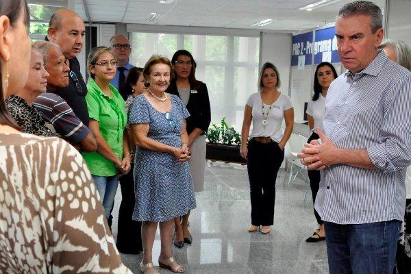 Recadastramento de servidores tem início com presença do presidente da ALMS