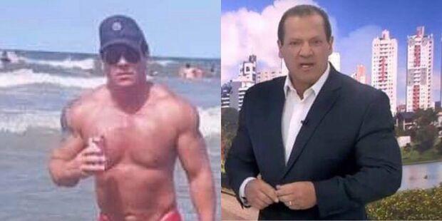 Após fotos de sunga viralizarem, apresentador da Record é demitido e 'recontratado'