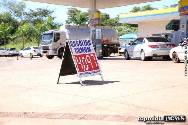 Preço da gasolina dispara e já ultrapassa R$ 4,39 em Campo Grande; confira locais