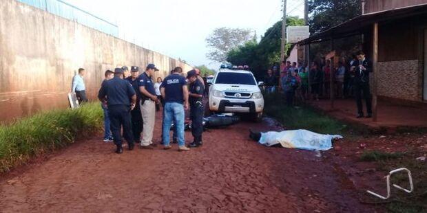 Agente penitenciário é executado por pistoleiros; servidor estava com drogas