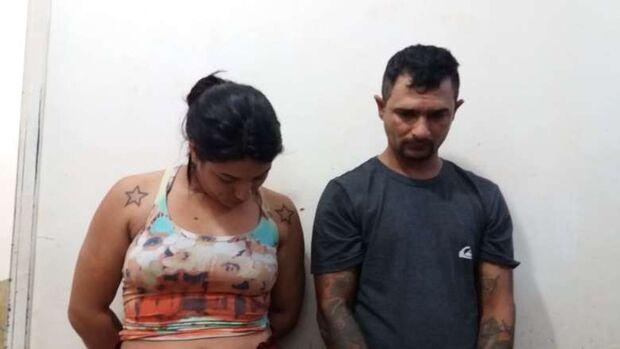 NOVATOS NO CRIME: casal é preso pela PM comercializando drogas