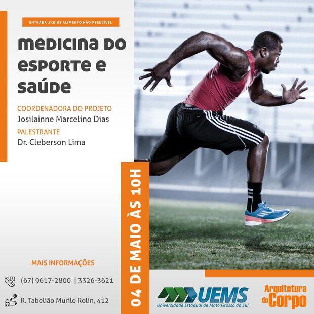 Em parceria com profissionais de saúde, academia promove palestras sobre atividade física na Capital
