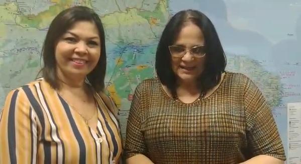 VÍDEO: Ministra Damares firma aliança contra o tráfico de mulheres e crianças em MS
