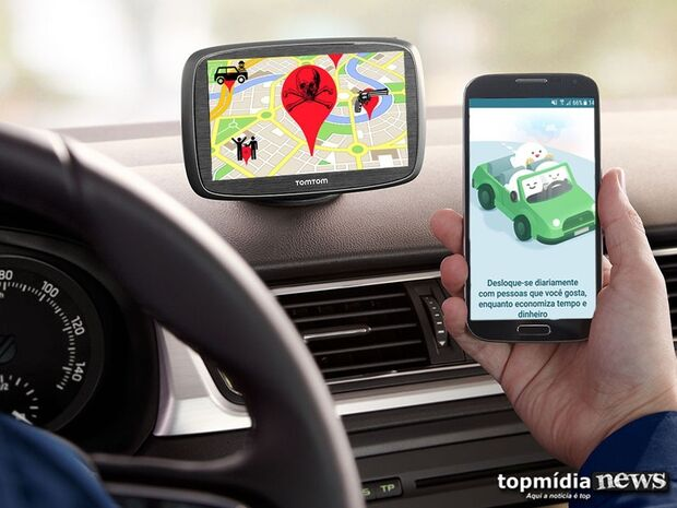 Por segurança, motoristas de aplicativo evitam zonas perigosas de Campo Grande