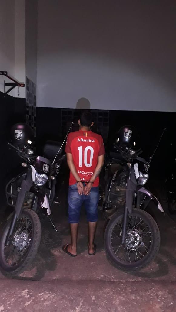 Foragido é preso depois de tentar roubar R$ 50 mil de garagem