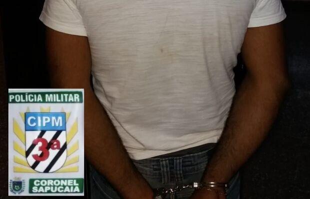 Foragido é recapturado pela polícia durante abordagem em MS