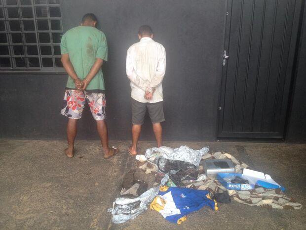 Dupla é presa furtando posto de combustível em Campo Grande