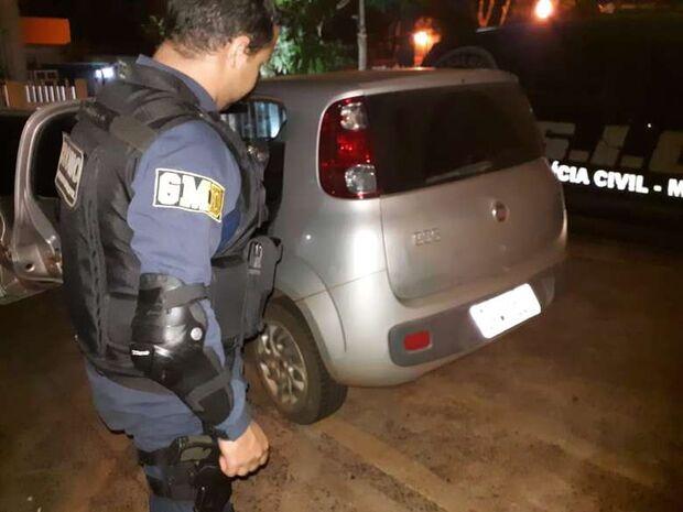 Douradense é preso com veículo roubado no Rio de Janeiro