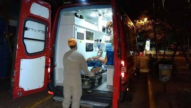 Após dois anos, homem volta a sofrer atentado e vai parar no hospital