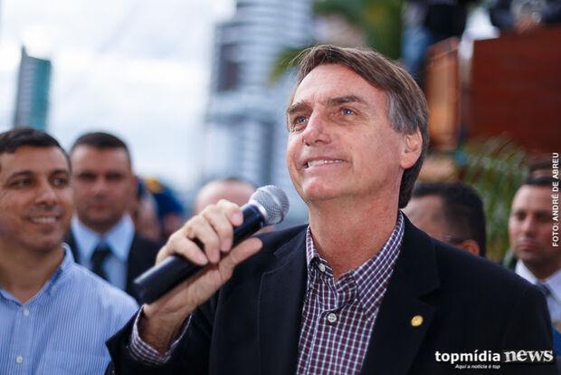 """""""Não é tanta notícia ruim"""", diz Bolsonaro"""
