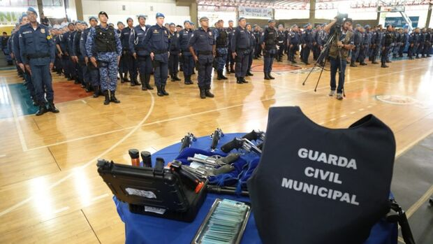 Metade do efetivo da Guarda estará capacitada para utilizar armamento letal