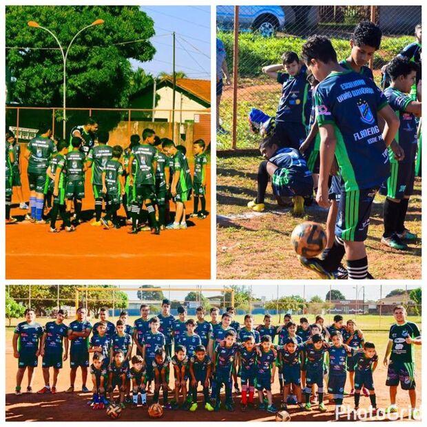 Através do futebol, escolinha muda realidade de crianças carentes no Alves Pereira