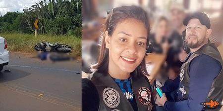 URGENTE: Casal morre em acidente de moto próximo a Ponta Porã