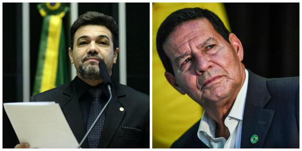 Marco Feliciano pede impeachment de Mourão: 'é um conspirador'