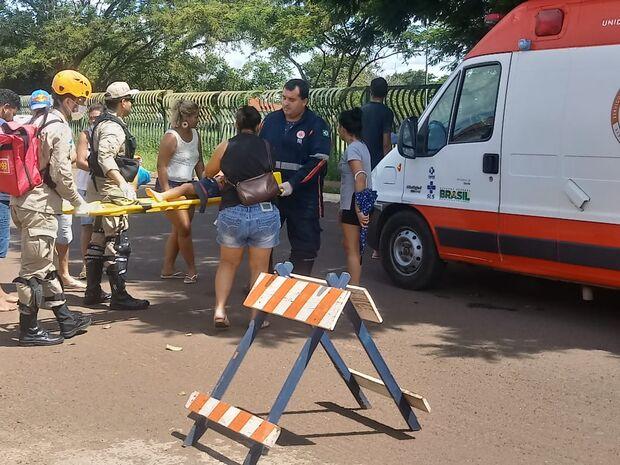 2ª DO DIA: menina de três anos é atropelada em Campo Grande