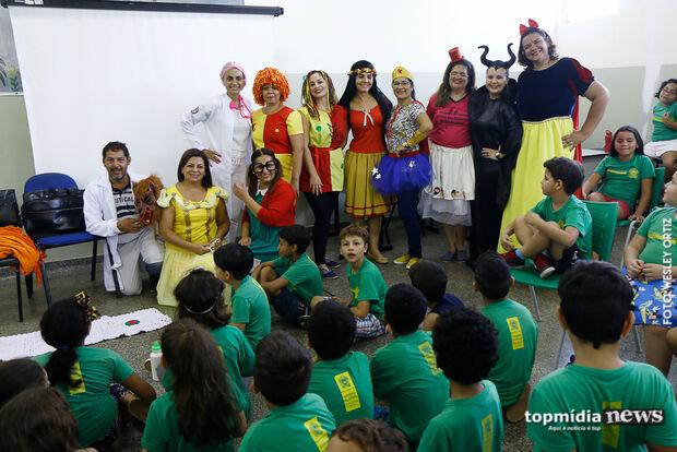 'DOCE LEITURA': através do lúdico, projeto busca despertar hábito da leitura em crianças de MS
