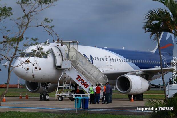 Aeroporto Internacional de Campo Grande opera normalmente nesta segunda-feira