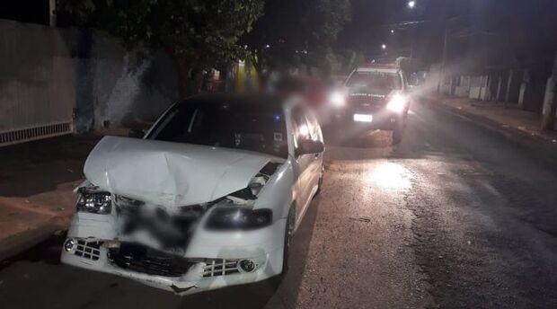 Motorista bêbado foge após causar acidente, mas acaba no 'xilindró'