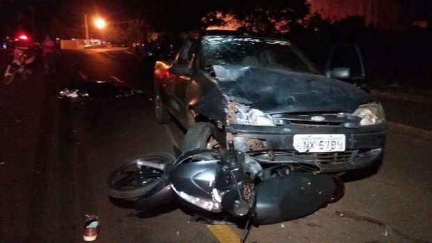 Guarda Municipal é atropelado por motorista bêbado e morre em MS