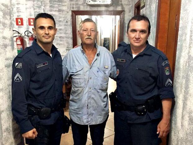 Policiais Militares salvam a vida de tenente reformado do exército em cidade do MS