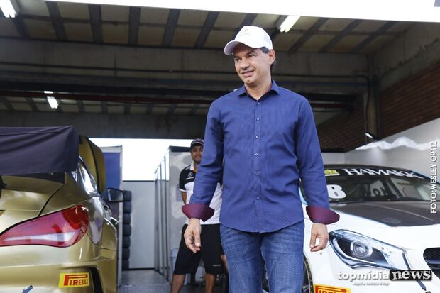 Copa Truck: Marquinhos visita autódromo e diz que corrida movimenta economia de Campo Grande