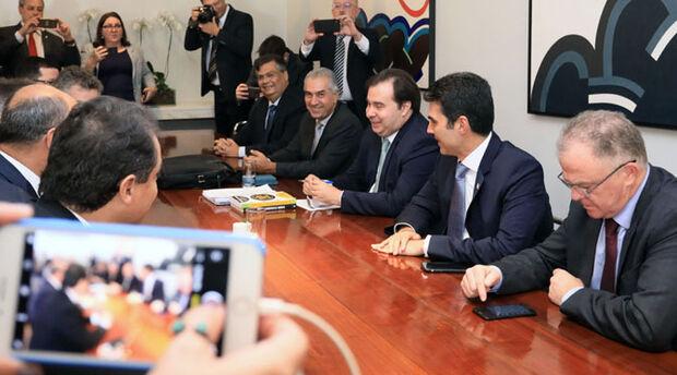 Em Brasília, Reinaldo vai aos Três Poderes apresentar pautas definidas no Fórum de Governadores
