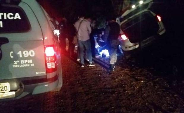 Assaltante morre durante troca de tiros com a polícia em MS