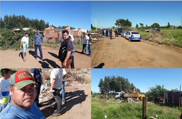 Prefeitura envia equipe de limpeza após protesto de moradores do Teruel