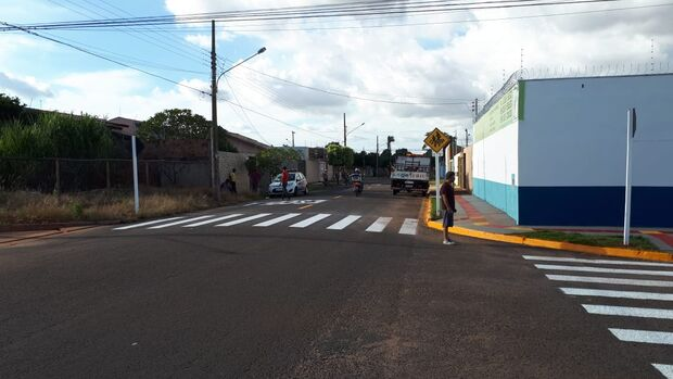 Após denúncia, prefeitura sinaliza entorno de escola infantil do Jardim Tijuca
