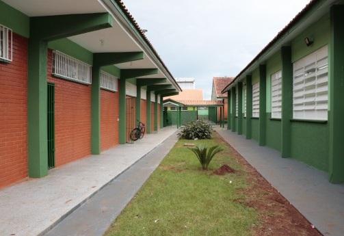 TJMS e Governo do Estado entregam na segunda-feira a 10ª escola reformada por presos na Capital