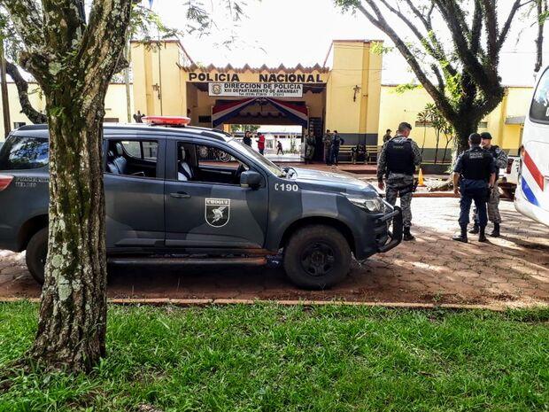 Policiais do Batalhão de Choque vão até o Paraguai recuperar carreta roubada