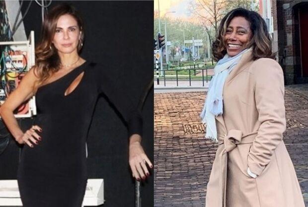 Luciana Gimenez confessa que já ficou com o mesmo ator internacional que Glória Maria