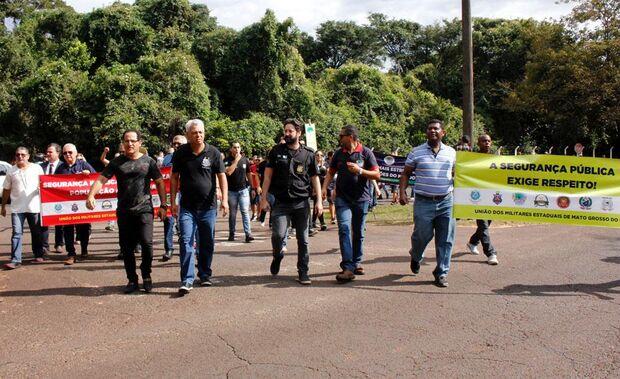 Fracassam protestos dos policiais em Mato Grosso do Sul